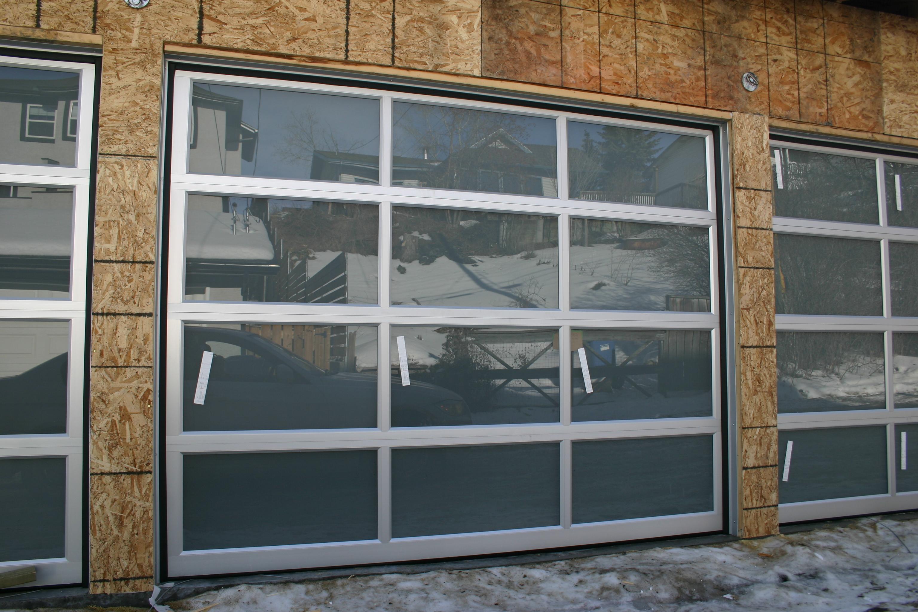 Glass overhead doors - 31 Jan 11